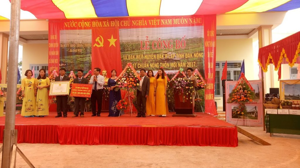 Tỉnh Đắk Nông ban hành 03 Bộ tiêu chí Nông thôn mới