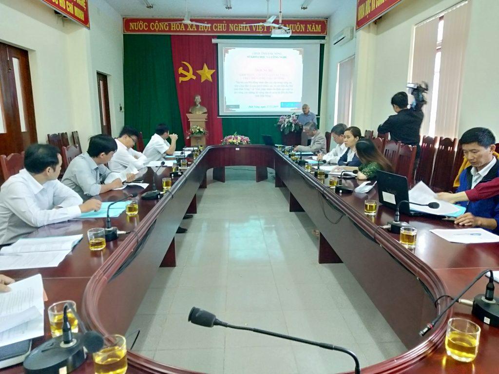 Hội nghị giới thiệu, chuyển giao kết quả nghiên cứu nhiệm vụ cấp tỉnh