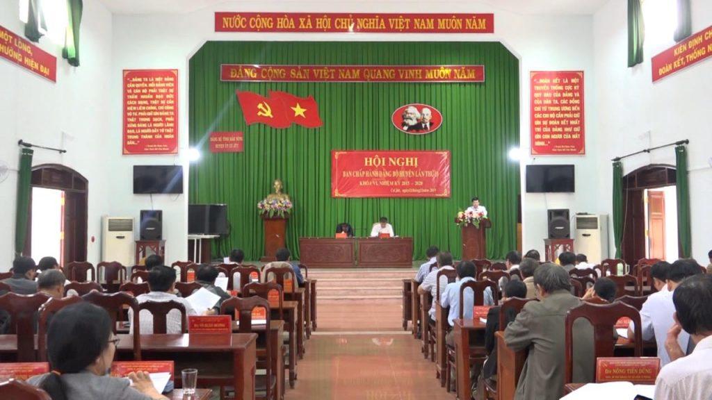 Đảng Bộ huyện Cư Jút đẩy mạnh việc thực hiện nêu gương của cán bộ, đảng viên, nhất là người đứng đầu